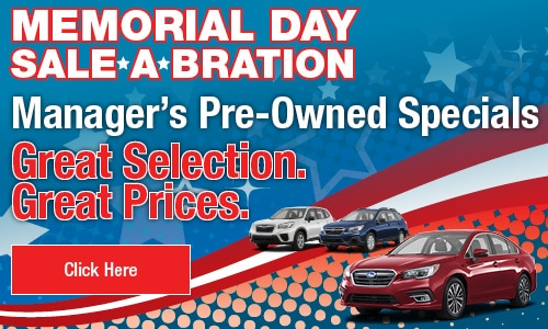 May 2020 Manager's Pre-Owned Specials
