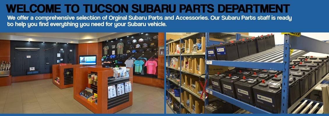 Tucson Subaru Auto Parts Center