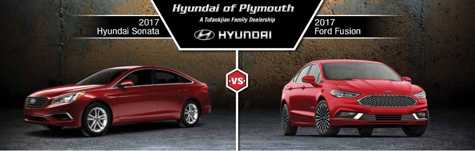 2017 Hyundai Sonata Vs 2017 Ford Fusion