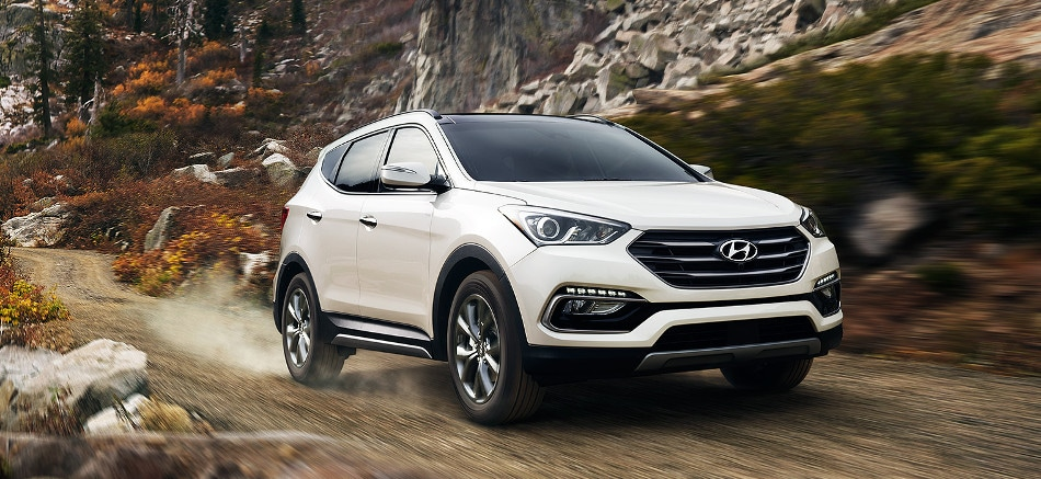 Available With 2 4l Inline 4 Cylinder Or 2 0l Inline 4 Cylinder Turbo Engine Options The Hyundai Santa Fe Sport Is The Best Midsized Suv For Power Or