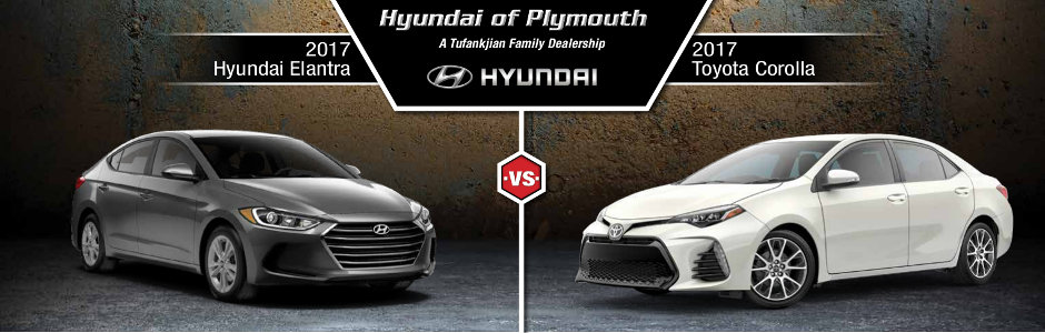 2017 Hyundai Elantra Vs 2017 Toyota Corolla
