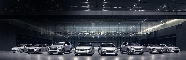 Hyundai Model Lineup