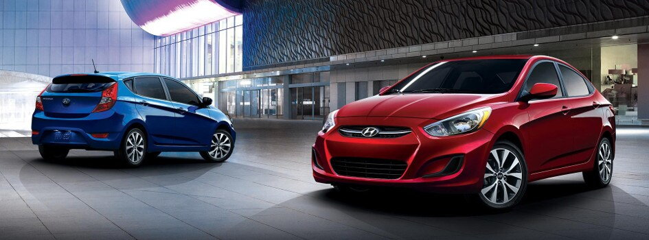 2017 Hyundai Accent Trim Models