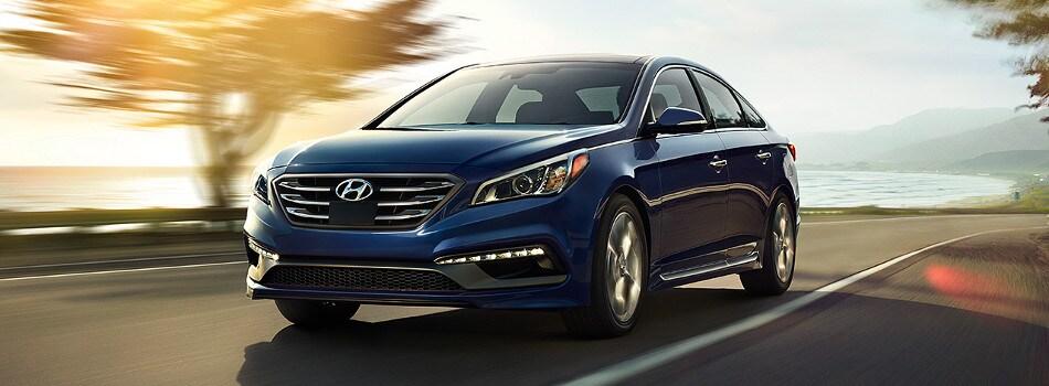 2017 Hyundai Sonata Exterior Front View