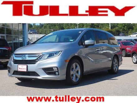 Used 2019 Honda Odyssey EX-L w/Navigation & RES Van for sale in Nashua, NH