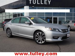 Used 2015 Honda Accord Sport Sedan for sale in Manchester, NH