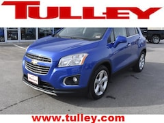 Used 2015 Chevrolet Trax LTZ SUV for sale in Manchester, NH