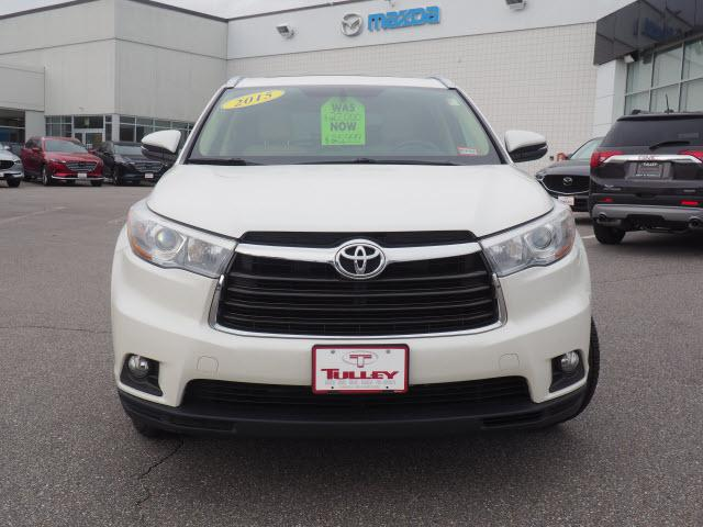 ... Used 2015 Toyota Highlander XLE V6 SUV Near Nashua, NH ...