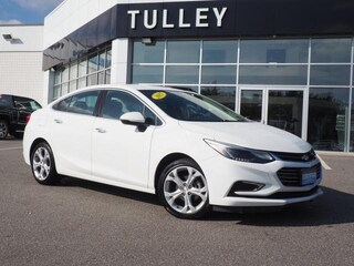 Certified Pre-Owned 2017 Chevrolet Cruze Premier Auto Sedan for sale in Manchester, NH