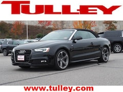 Used 2016 Audi A5 WAUM2AFH5GN000827 for sale in Manchester, NH