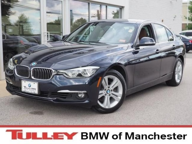 Certified Pre-Owned 2016 BMW 328i i xDrive Sedan for sale in Manchester, NH