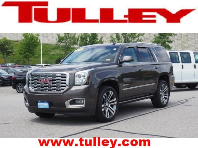 Certified Pre-Owned 2019 GMC Yukon Denali SUV for sale in Manchester, NH