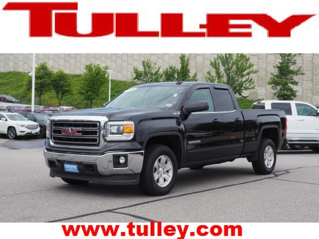 Certified Pre-Owned 2015 GMC Sierra 1500 SLE Truck Double Cab for sale in Manchester, NH