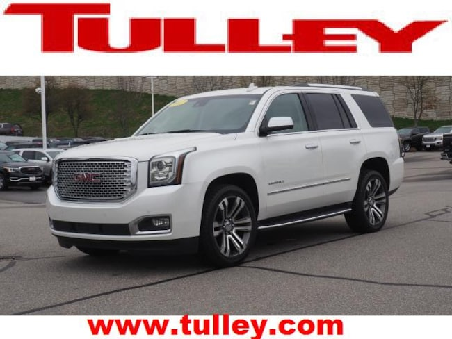 Certified Pre-Owned 2017 GMC Yukon Denali SUV for sale in Manchester, NH