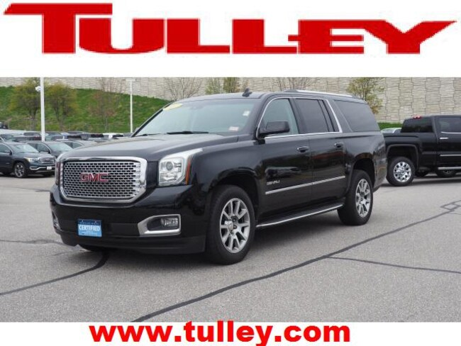 Certified Pre-Owned 2017 GMC Yukon XL Denali SUV for sale in Manchester, NH