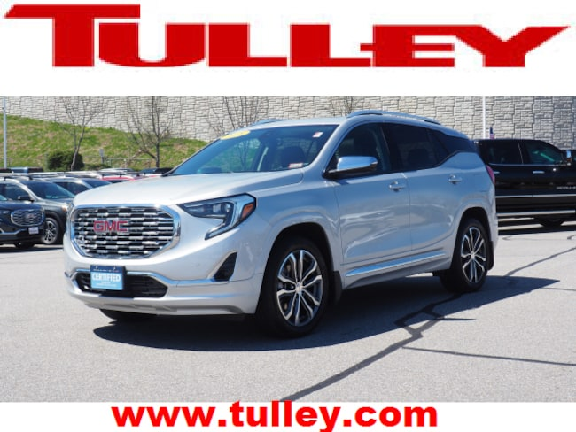 Certified Pre-Owned 2018 GMC Terrain Denali SUV for sale in Manchester, NH