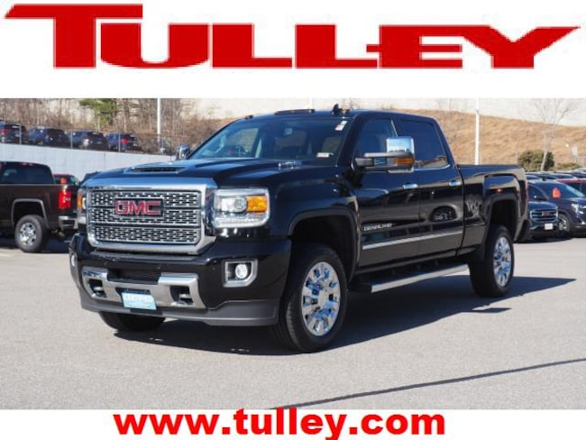 Certified Pre-Owned 2018 GMC Sierra 2500HD Denali Truck Crew Cab for sale in Manchester, NH