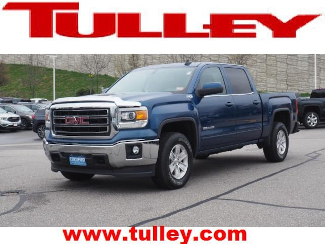 Certified Pre-Owned 2015 GMC Sierra 1500 SLE Truck Crew Cab for sale in Manchester, NH