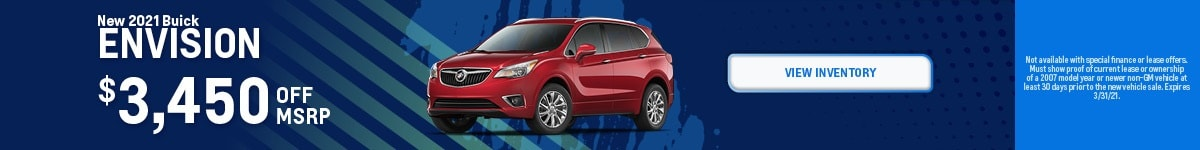 New 2021 Buick Envision