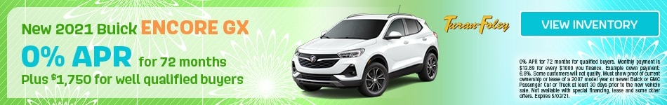 New 2021 Buick Encore GX