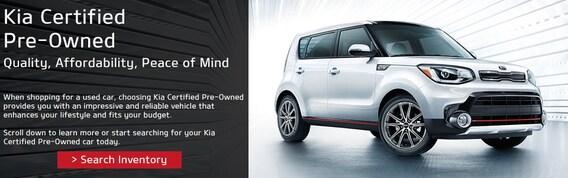 Kia Certified Pre-Owned >> Certified Pre Owned Program Turner Kia
