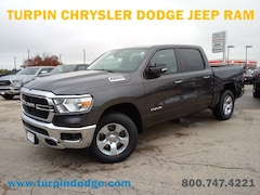 New 2019 Ram 1500 BIG HORN / LONE STAR CREW CAB 4X4 5'7 BOX Crew Cab 1C6RRFFGXKN645868 for sale in Dubuque, IA at Turpin Chrysler Dodge Jeep Ram