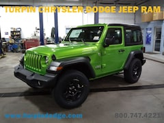 New 2018 Jeep Wrangler SPORT 4X4 Sport Utility for sale in Dubuque, IA