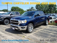 New 2019 Ram 1500 BIG HORN / LONE STAR CREW CAB 4X4 5'7 BOX Crew Cab 1C6SRFFT1KN627287 for sale in Dubuque, IA at Turpin Chrysler Dodge Jeep Ram