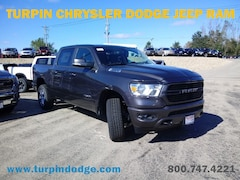 New 2019 Ram 1500 BIG HORN / LONE STAR CREW CAB 4X4 5'7 BOX Crew Cab 1C6SRFFT6KN657725 for sale in Dubuque, IA at Turpin Chrysler Dodge Jeep Ram