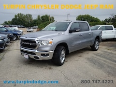 New 2019 Ram 1500 BIG HORN / LONE STAR CREW CAB 4X4 5'7 BOX Crew Cab 1C6SRFFT6KN649026 for sale in Dubuque, IA at Turpin Chrysler Dodge Jeep Ram