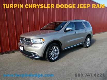 2015 Dodge Durango For Sale >> Used 2015 Dodge Durango For Sale Turpin Dodge Chrysler Jeep In Dubuque Near Dyersville Platteville Wi