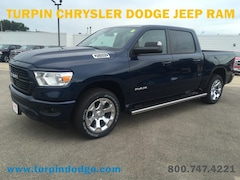 New 2019 Ram 1500 BIG HORN / LONE STAR CREW CAB 4X4 5'7 BOX Crew Cab 1C6SRFFT9KN592630 for sale in Dubuque, IA at Turpin Chrysler Dodge Jeep Ram