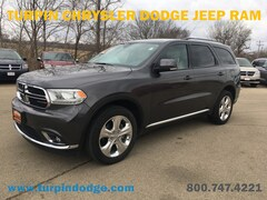 Used 2015 Dodge Durango Limited SUV for sale in Dubuque, IA.