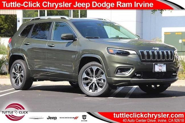 New 2019 Jeep Cherokee OVERLAND FWD Sport Utility Irvine