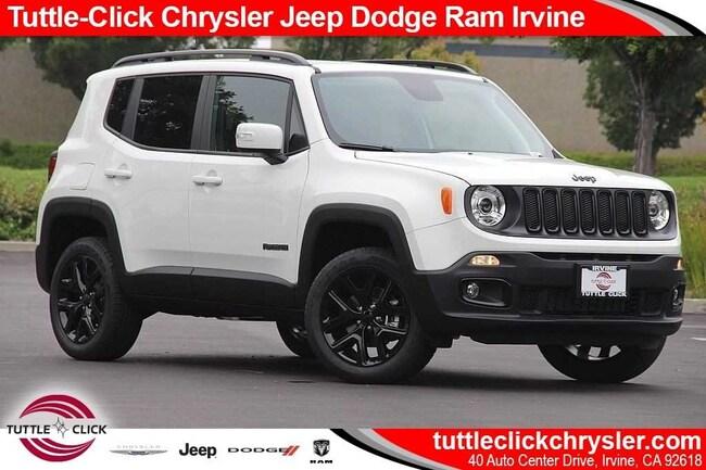 new 2018 jeep renegade altitude 4x4 for sale | irvine ca | stock