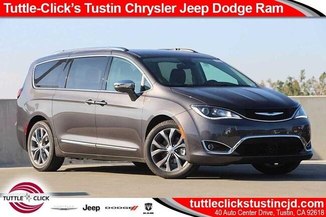New 2019 Chrysler Pacifica LIMITED Passenger Van Irvine