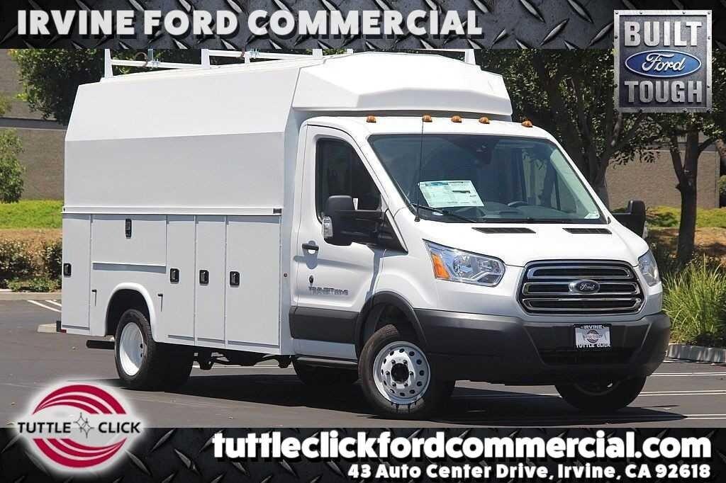 2018 Ford Transit-350 Cutaway DRW XL KUV 13' Plumber Body Gas Truck