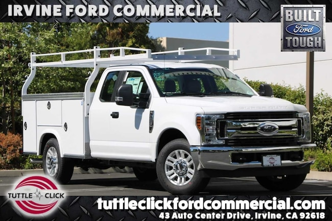 2019 Ford Super Duty F-250 SRW XL Royal 8' Utility Body Gas  Truck Super Cab