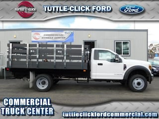 2018 Ford Super Duty F-450 DRW XL Marathon 12' Stake Bed Diesel Truck Regular Cab