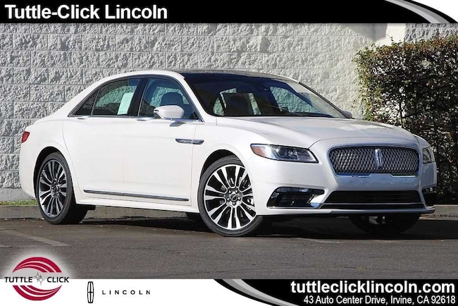 New  2019 Lincoln Continental Reserve Car For sale in Irvine, CA