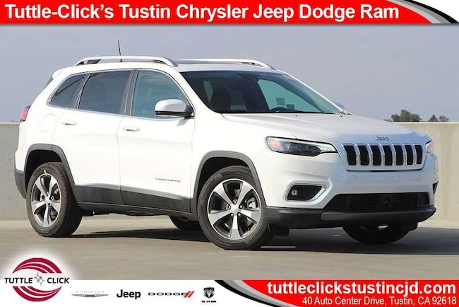 New 2019 Jeep Cherokee LIMITED FWD Sport Utility Tustin