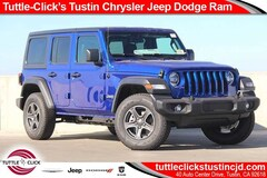 New 2018 Jeep Wrangler UNLIMITED SPORT S 4X4 Sport Utility in Tustin, CA