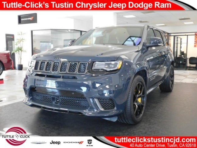 New 2018 Jeep Grand Cherokee TRACKHAWK 4X4 Sport Utility Tustin