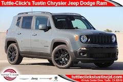 New 2018 Jeep Renegade ALTITUDE 4X2 Sport Utility in Tustin, CA