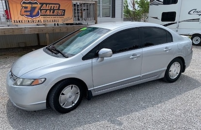 Used 2007 Honda Civic Hybrid For Sale At 27 Auto Sales Vin
