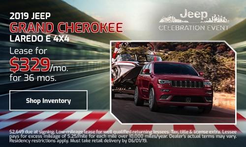 2019 Jeep Grand Cherokee - May
