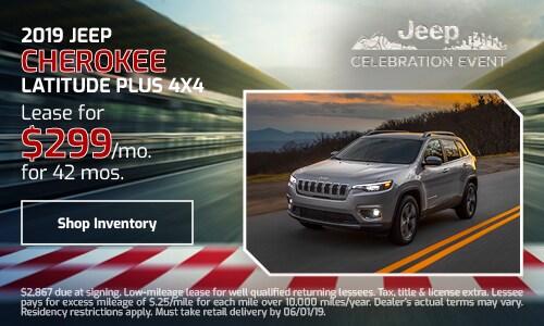 2019 Jeep Cherokee - May