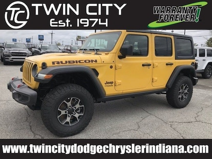New 2019 Jeep Wrangler UNLIMITED RUBICON 4X4 For Sale