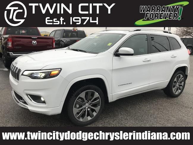 2019 Jeep Cherokee OVERLAND 4X4 Sport Utility Lafayette IN