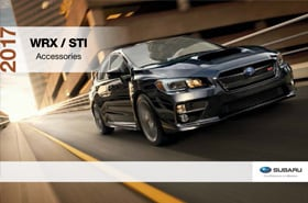 2017 Subaru WRX Accessories Brochure